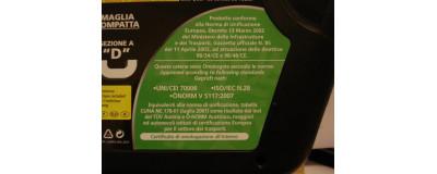 Catene da neve 9 MM LAMPA R9 GRUPPO 125  215/60 R17 ONORM V5117